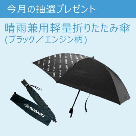 6月は折り畳み傘を3名様に!